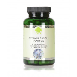 Natural Vitamin E 400iu -...